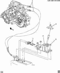 Shift Controls  Manual Transmission 5 Speed
