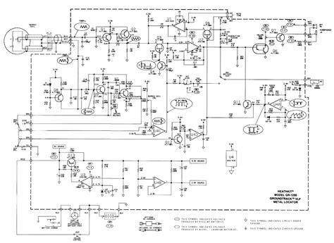 heathkit groundtrack gr  metal detector schematic diagram