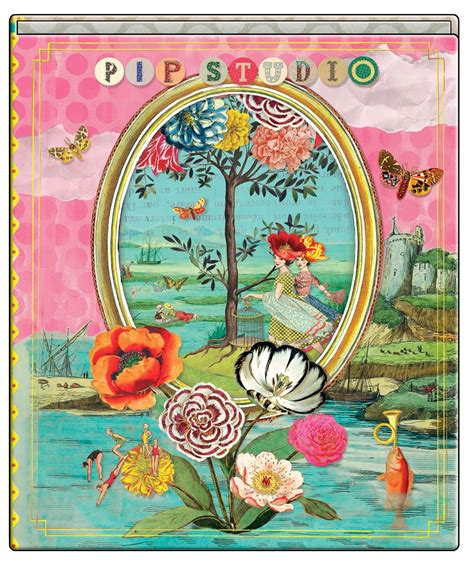 Pip Studio Catch of the day Ringbinder A4 Bell and Blue