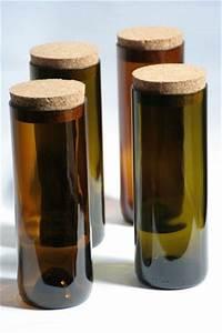 Basteln Mit Glasflaschen : wandelwerkdesign vorratsdosen aus alten weinflaschen ~ Watch28wear.com Haus und Dekorationen