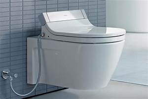 New toilets offer good looks and high performance for Water tech bathroom fittings