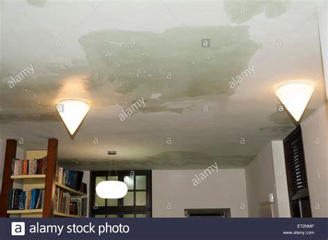 dach undicht mietwohnung wasserschaden decke tropft