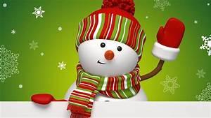 Christmas Snowman 636759 - WallDevil