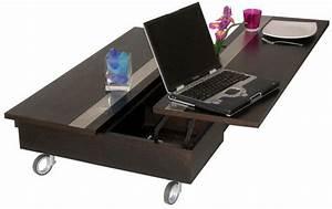 Table De Salon Transformable : une bonne gestion de l 39 espace avec la table basse design transformable rubbens ~ Teatrodelosmanantiales.com Idées de Décoration