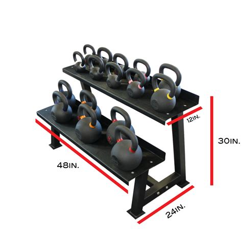 kettlebell rack equipment racks kettlebells storage heavy training duty tier xte