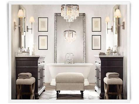 restorationhardwarebathrooms modern bathroom vanities restoration hardware rh pinterest
