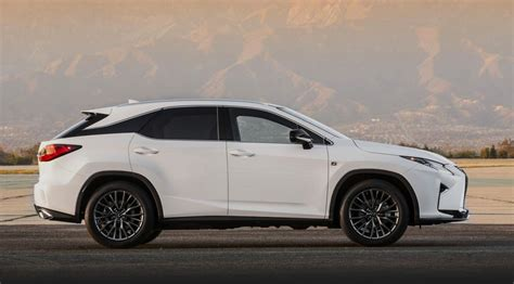 lexus rx 2016 f sport all new 2016 lexus rx officially revealed performancedrive