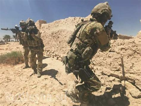 russian ministry  defense unveils  spetsnaz team  syria  fort russ