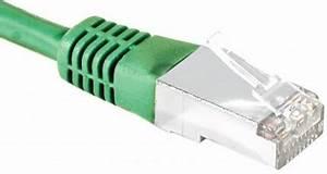 Achat Cable Ethernet 20m : c ble rj45 cat 5e eco f utp vert 20m achat vente ~ Edinachiropracticcenter.com Idées de Décoration