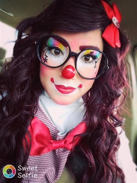 pin  florencia cabrera  womens fashion outfits cute clown makeup clown makeup halloween