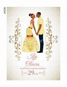 Nigerian traditional wedding invitation card igbo for Igbo traditional wedding invitations