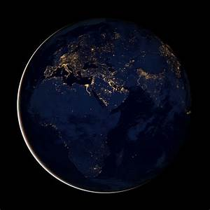 Nasa Earth At Night Wallpaper - Pics about space