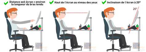 hauteur bureau ergonomie eviter les tms en choisissant un bras articulé pour