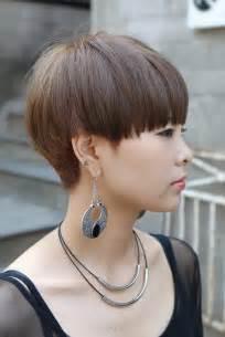 Bowl Mushroom Haircuts Short Cuts for Women