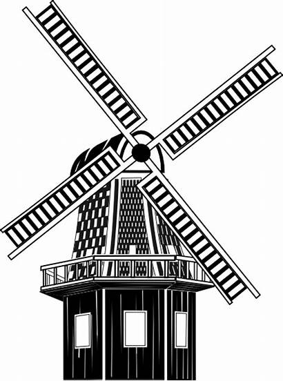 Clipart Wind Mill Dutch Windmill Farm Clip