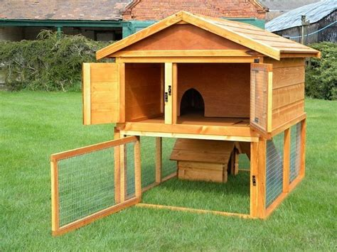 How To Make Your Own Rabbit Hutch make your own rabbit hutch woodworking projects plans