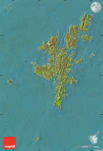 Shetland Islands Scotland Map