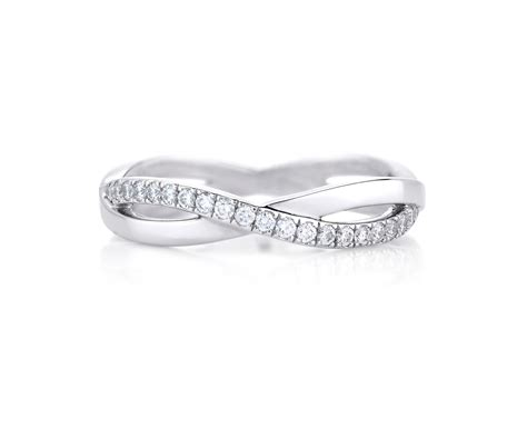 infinity white gold band j1fu07z00w de beers