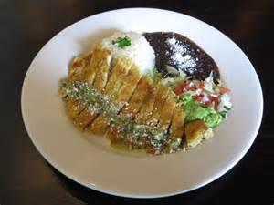 Mexican Milanesa De Pollo