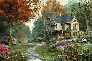 Cool Beautiful Landscapes Houses Best Design Homes