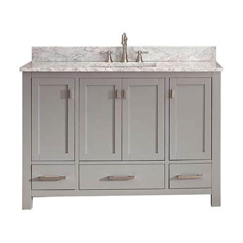 modero chilled gray 48 inch vanity only avanity vanities