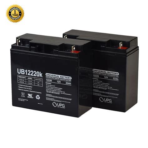 24 volt batterie half u1 22 ah 18ah upgrade 24 volt ub12220 agm mobility scooter battery pack with post
