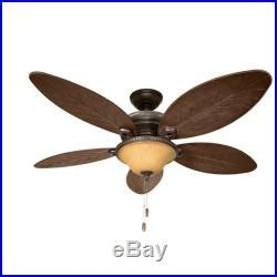 Damp Rated Ceiling Fans Without Lights by 54 Hunter Casual Outdoor Ceiling Fan With Traditional