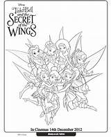 Tinkerbell Coloring Pages Fairy Fairies Disney Colouring Bell Tinker Pirate Secret Wings Sheets Colour Christmas Periwinkle Activities Printables Adult Cartoon sketch template
