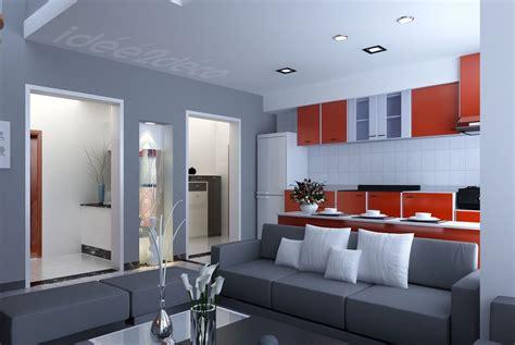 salon cuisine design design de petit salon cuisine gris et