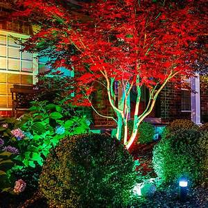 W color changing rgb led landscape spotlight remote sold