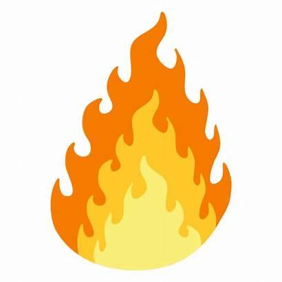 Fire Burning Cartoon Transparent Flame Svg Background