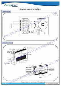 China 2016 Universal Type Fan Coil Unit Horizontal Exposed