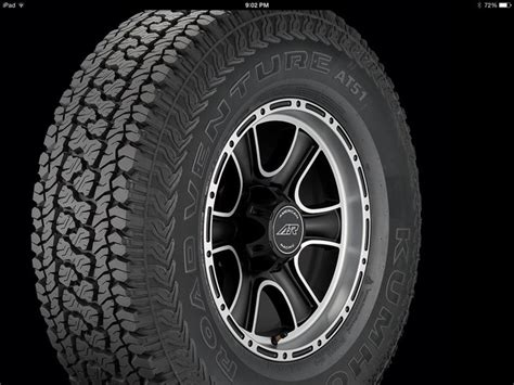 New Tire Kumho Road Venture At51