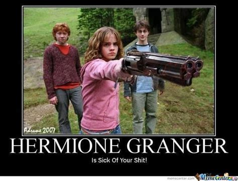 Hermione Granger Memes - hermione granger is sick by aq16in meme center