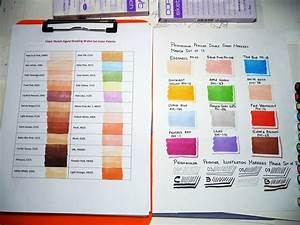How Can Charts Display Bias Copic Prismacolor Markers Color Charts B A Photo On