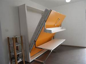 Wooden Folding Bed/folding Wall Bed With Desk The Best