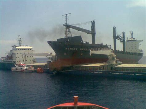 Ship Collision by M V Marti Princess Vs Renate Schulte Incident Photo Of