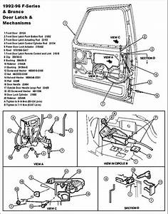 1992 F150 Door Latch Cable Broke