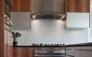 Glass Tiles For Kitchen Backsplash White Glass Subway Backsplash Photos Backsplash Kitchen Backsplash Products Ideas