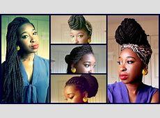 Box Braids Inspired hairstyles