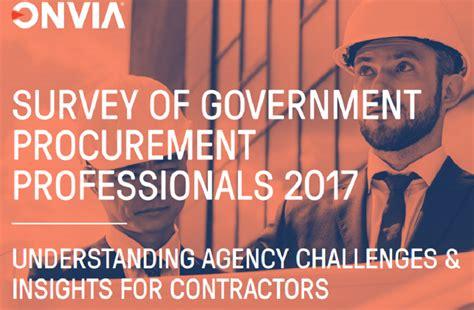 Survey of US Government Procurement Professionals ...