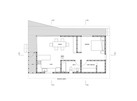 House Plans Under 100 Square Meters