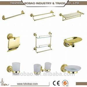 fashion classic sanitary ware bronze bathroom accessories With gold coloured bathroom fittings