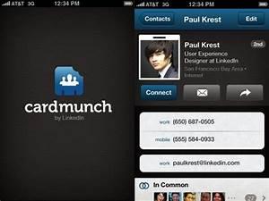 Cardmunch business card reader by linkedin iphone app for Linkedin business card app