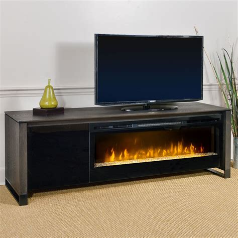 howden weathered espresso electric fireplace  blf