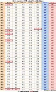Weekly number calendar 2017 weekly calendar template for Numbers schedule template