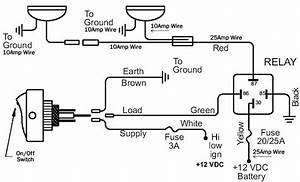 Wiring Diagram Relay Off Road Lights
