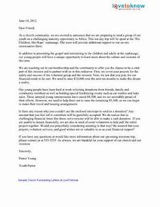 sample church fundraising letters lovetoknow With church building fundraising letter