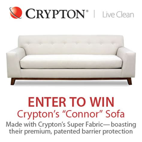 crypton fabric sofa crypton sofa sweepstakes the bark