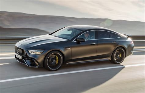 Driving dynamics at motorsport level, explosive sprints. 2019 Mercedes-AMG GT 4-Door Coupe says hello at Geneva | PerformanceDrive